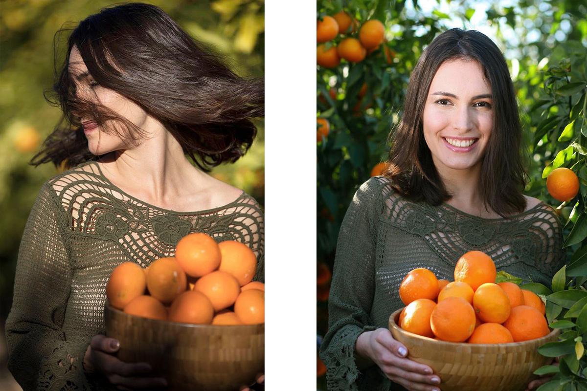 Об украшениях, апельсинах и портретных съемках…